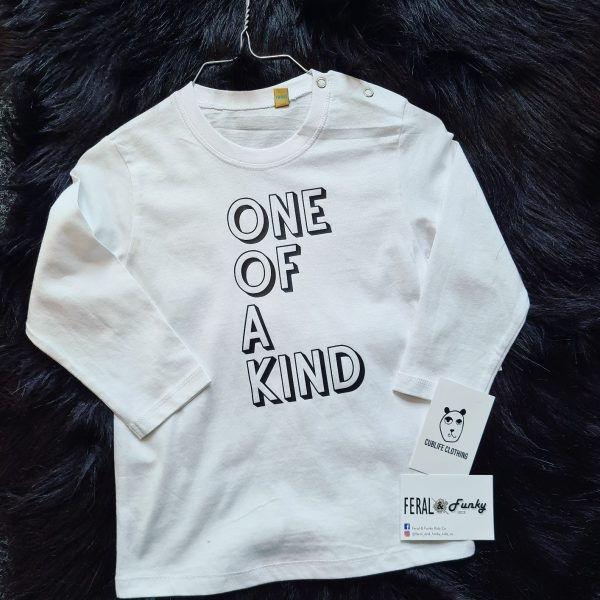 One_Of_A_Kind_White_Long_Sleeved_T-Shirt