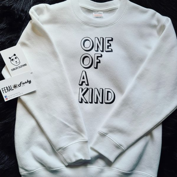 One_Of_A_Kind_White_Sweatshirt