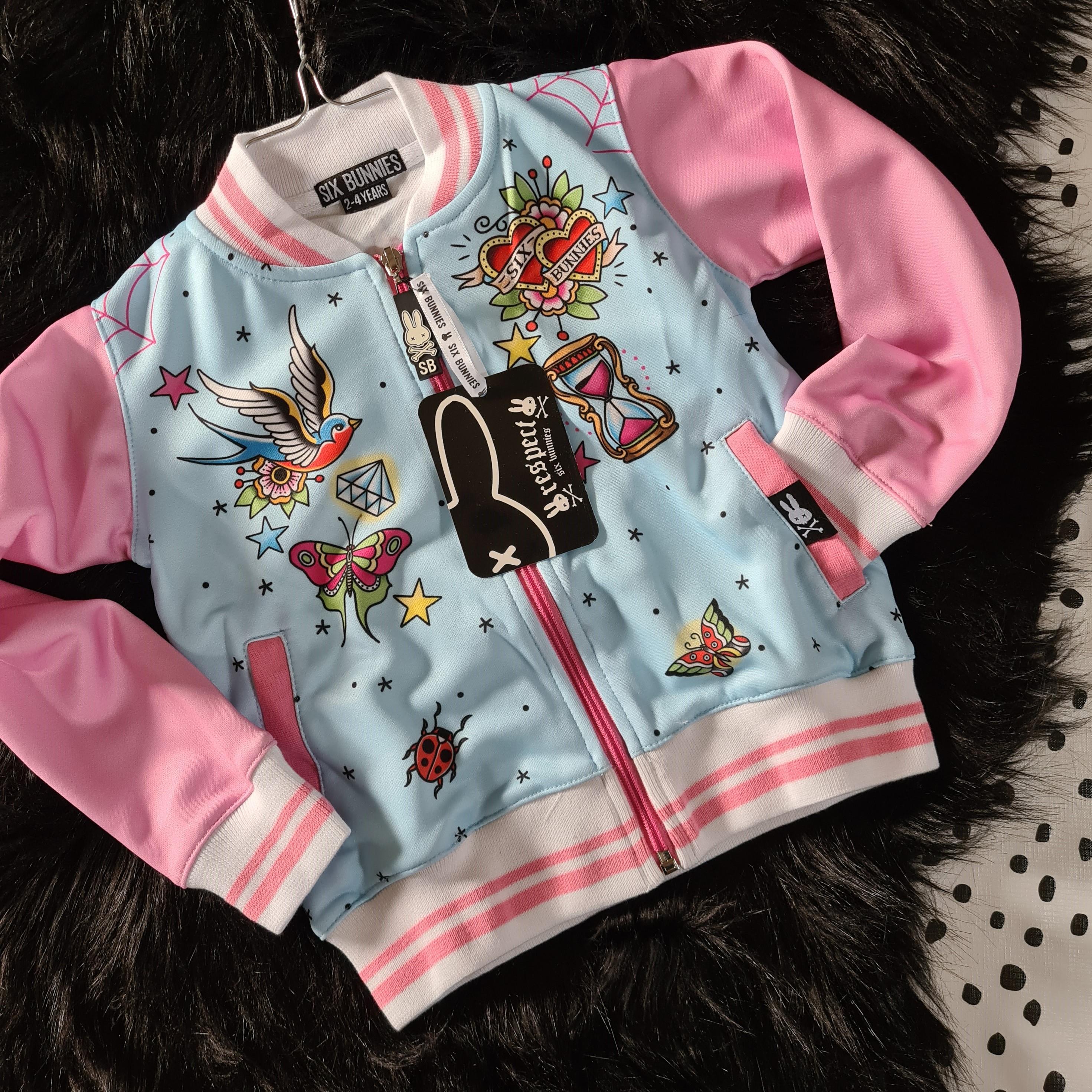Six Bunnies True love Jacket Front
