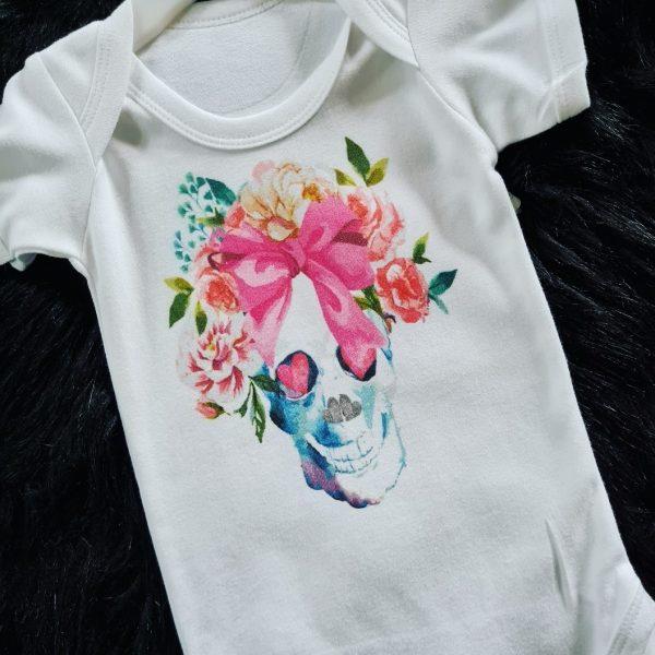 Candy-GIRL-Skull_Baby_Vest